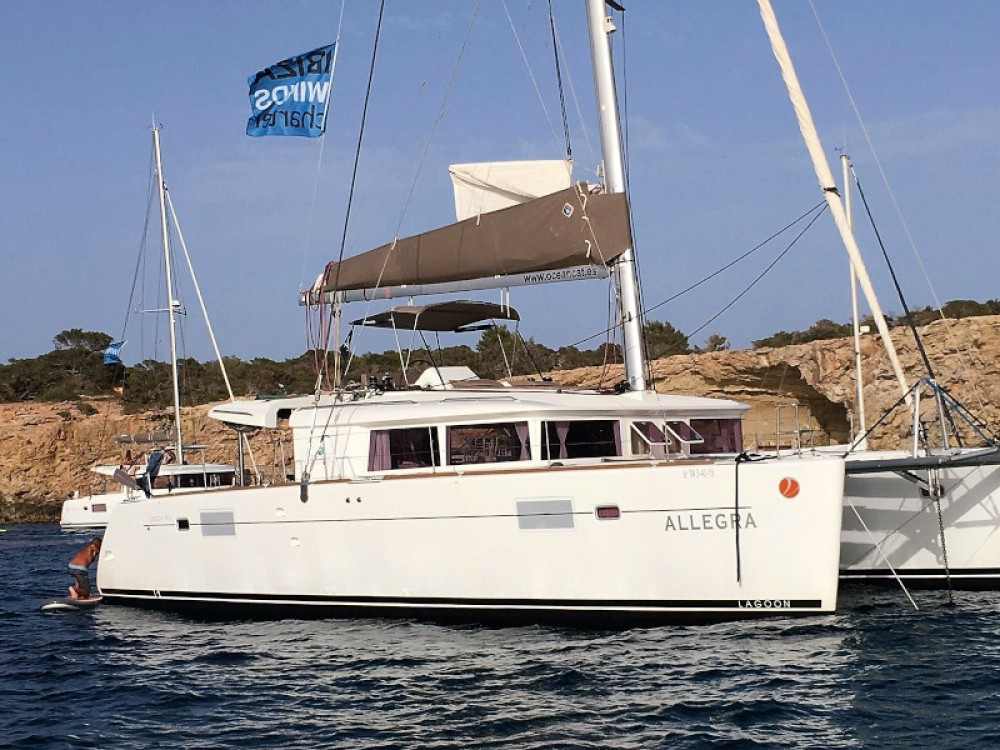 Noleggio Catamarano con o senza skipper Lagoon Sant Antoni de Portmany