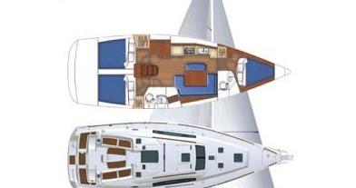 Noleggio Barca a vela a Marina di Portorosa – Bénéteau Oceanis 40