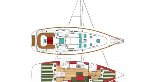 Noleggio yacht a Marina di Portorosa – Bénéteau Oceanis 423 Exclusive su SamBoat