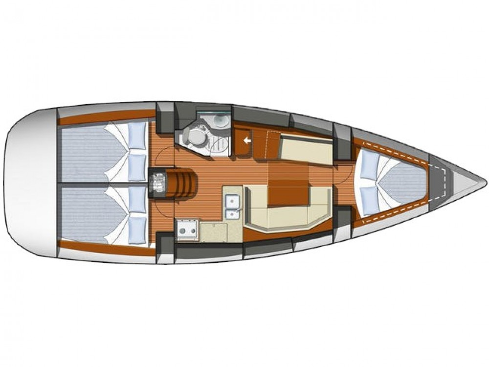 Noleggio yacht Álimos - Jeanneau Sun Odyssey 36i su SamBoat