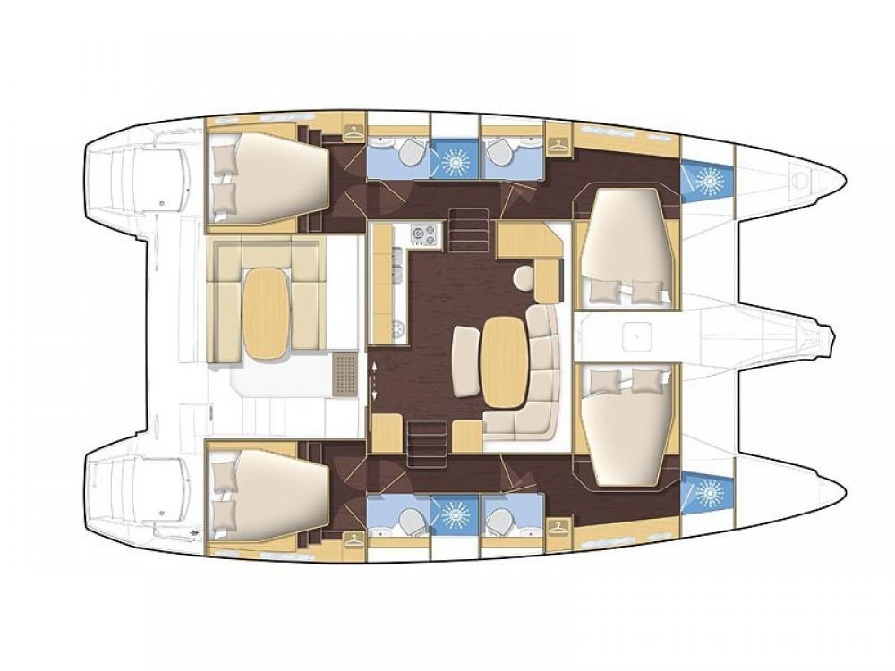 Noleggio barche Lagoon Lagoon 42 Álimos su Samboat