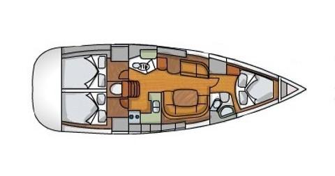 Noleggio barche Jeanneau Sun Odyssey 42i a Sukošan su Samboat