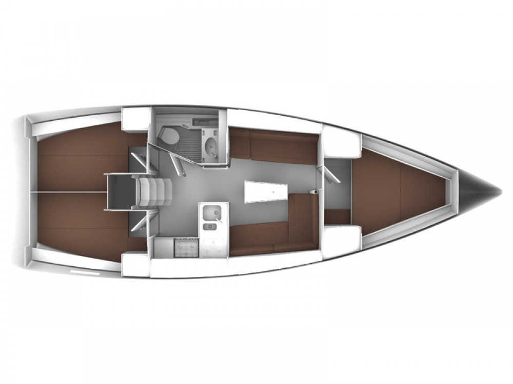noleggio Barca a vela Sukošan - Bavaria Bavaria 37