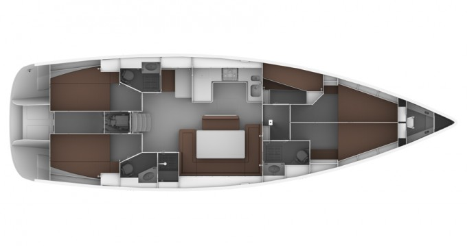 Noleggio yacht a Sukošan – Bavaria Bavaria 50 BT '12 su SamBoat