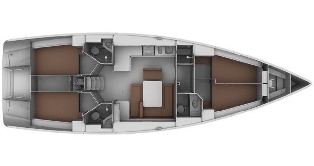 Noleggio yacht a Sukošan – Bavaria Bavaria 45 BT '11 su SamBoat