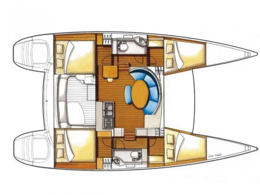 noleggio Catamarano Álimos - Lagoon Lagoon 380 S2