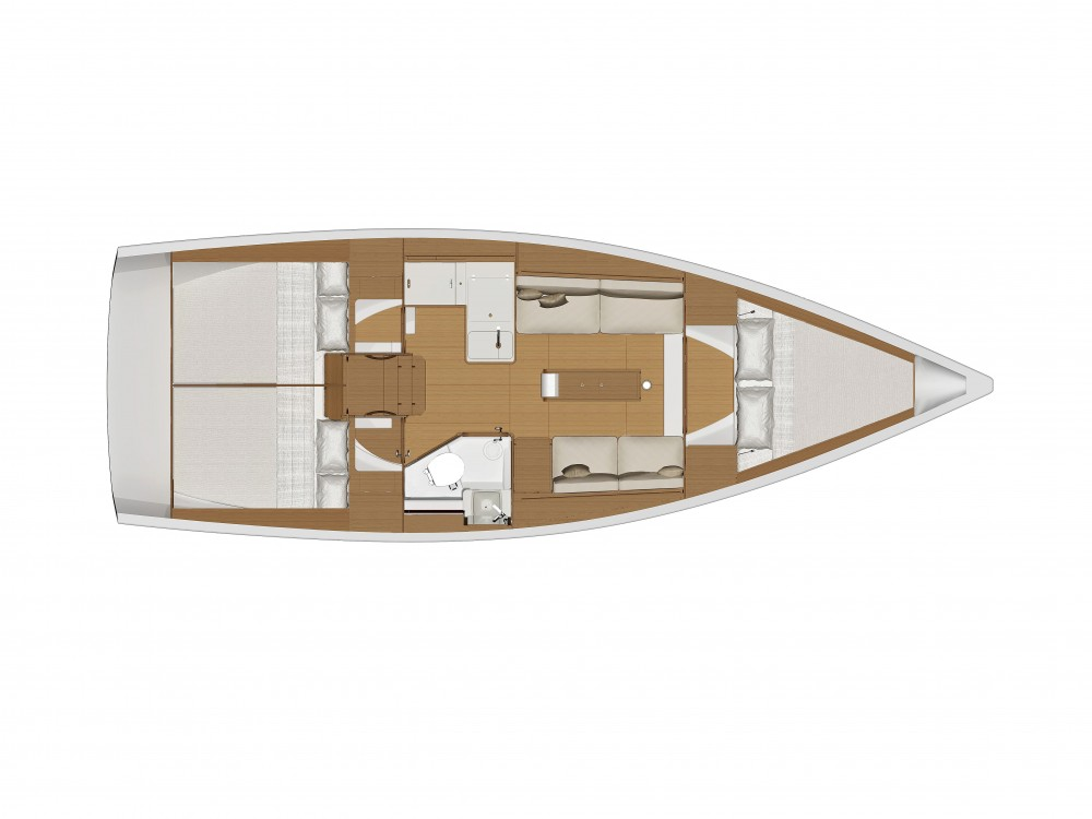 noleggio Barca a vela Općina Sukošan - Dufour Dufour 360 GL '18