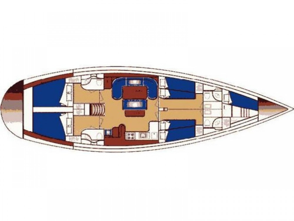 Noleggiare un'Ocean Ocean Star 51.1 Álimos