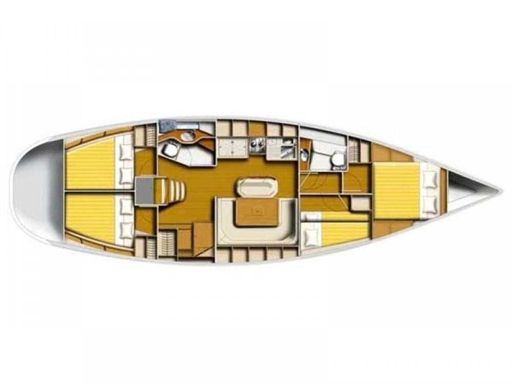 Noleggio Barca a vela con o senza skipper Poncin Álimos