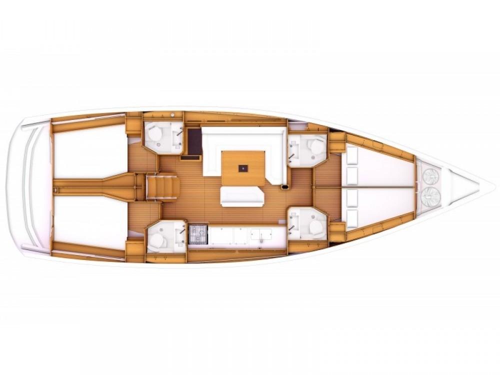 noleggio Barca a vela  - Jeanneau Sun Odyssey 479