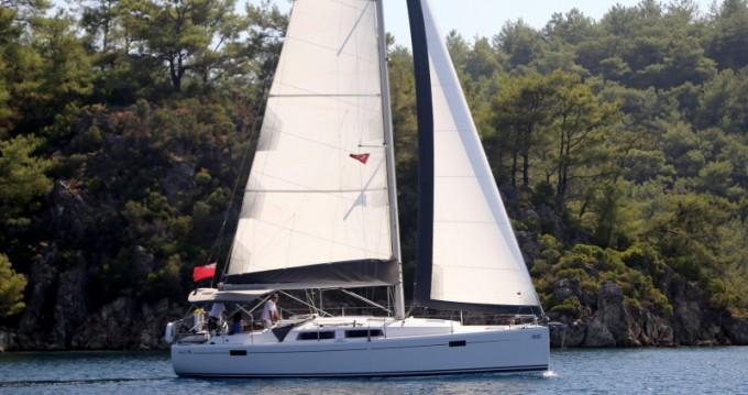 Noleggio barche Sebenico economico Hanse 385