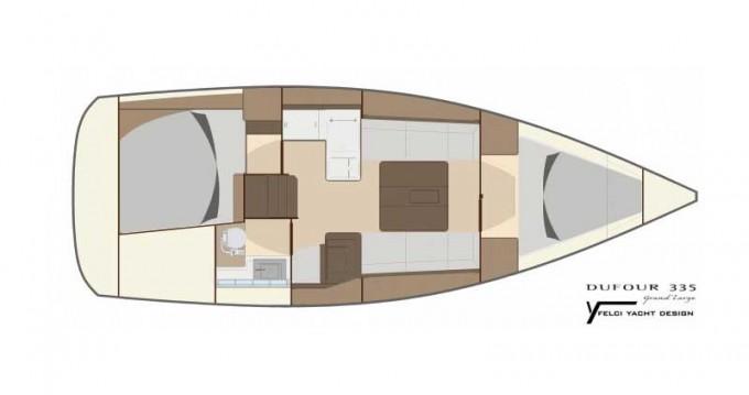 Noleggio barche Dufour Dufour 335 Grand Large a Primošten su Samboat