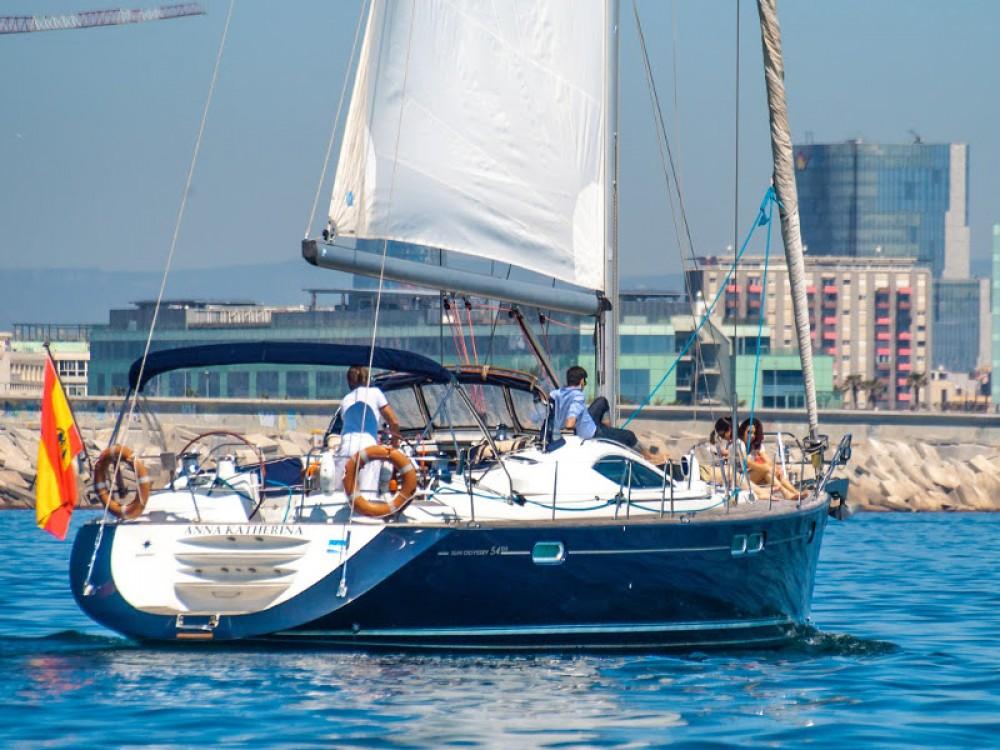 Noleggio barche Port Olímpic economico Jeanneau Sun Odyssey 54DS