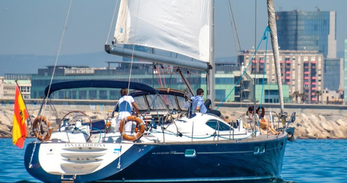 Jeanneau Jeanneau Sun Odyssey 54DS tra privati e professionisti a Barcellona
