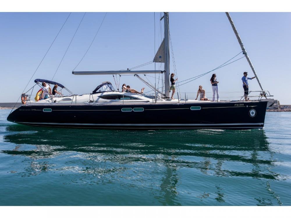 noleggio Barca a vela Port Olímpic - Jeanneau Jeanneau Sun Odyssey 54DS
