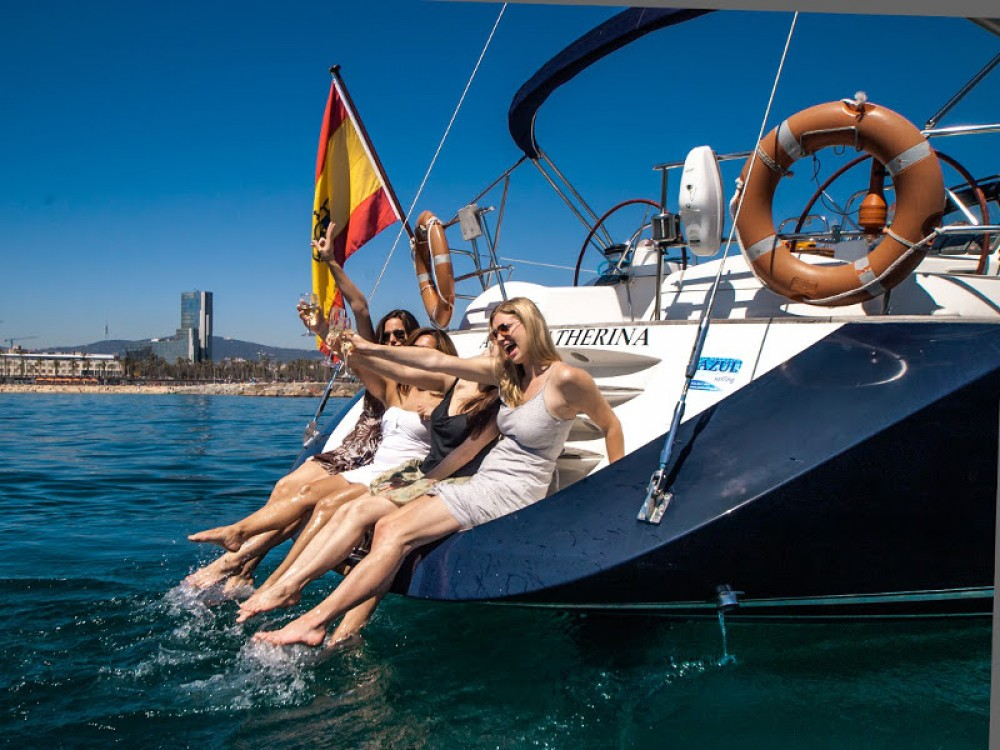Noleggio Barca a vela con o senza skipper Jeanneau Port Olímpic
