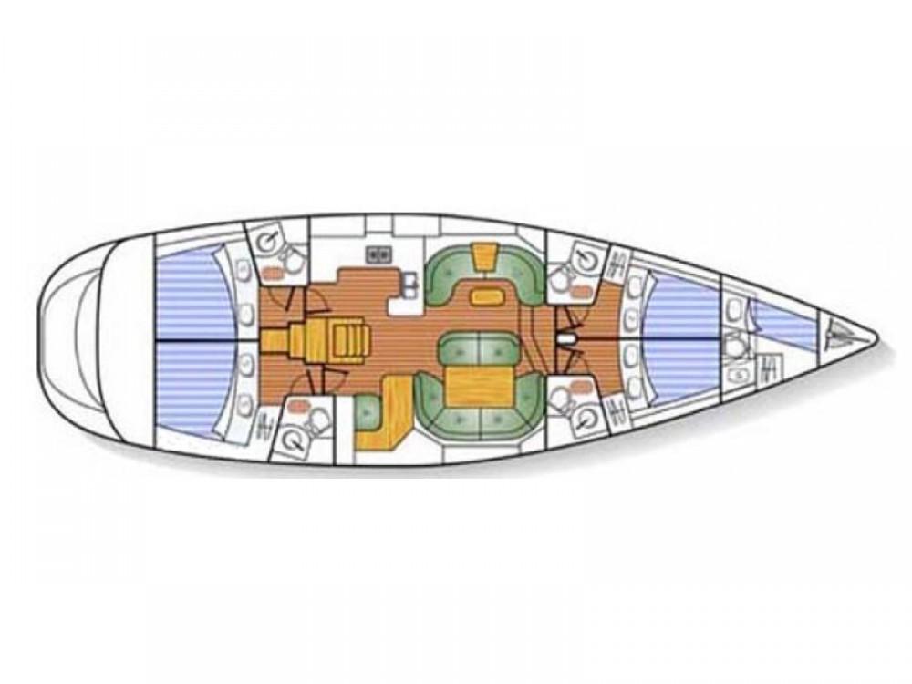 Noleggio yacht Port Olímpic - Jeanneau Jeanneau Sun Odyssey 54DS su SamBoat