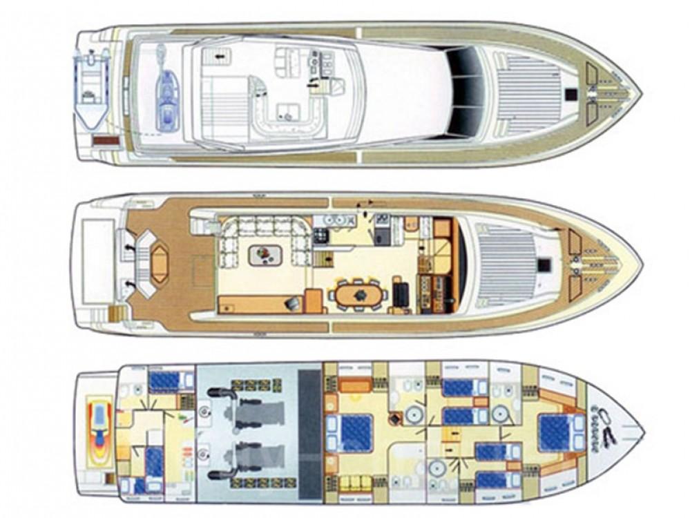 Noleggio barche Lisbona economico Azimut 80