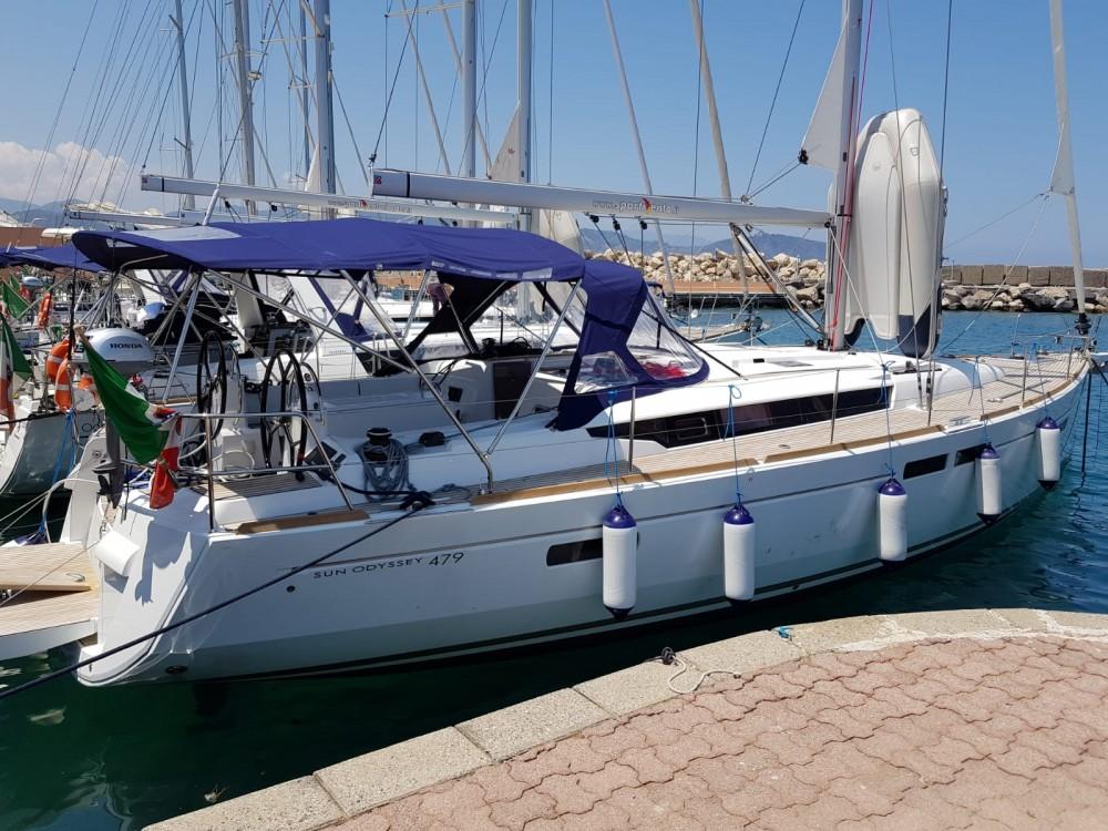 noleggio Barca a vela Olbia - Jeanneau Sun Odyssey 479