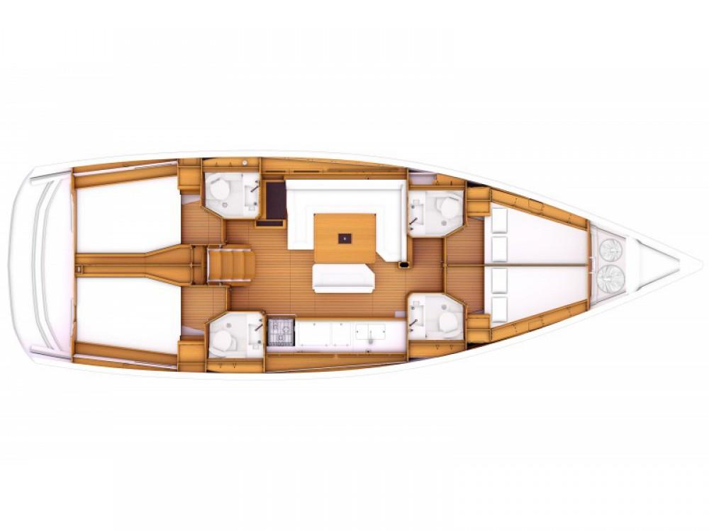 Noleggio barche Jeanneau Sun Odyssey 479 Olbia su Samboat