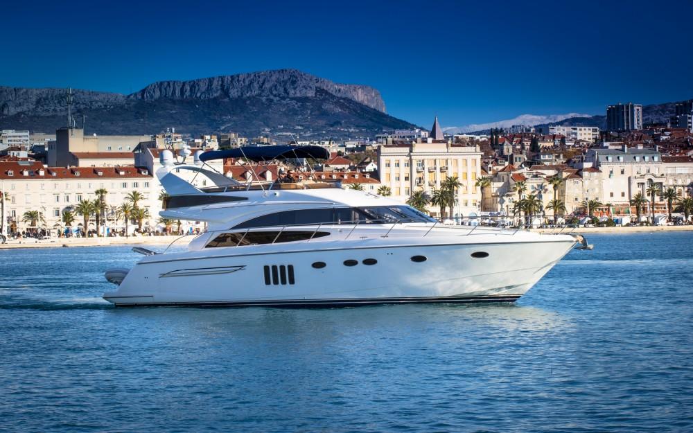 Noleggio barche Spalato economico Princess 62