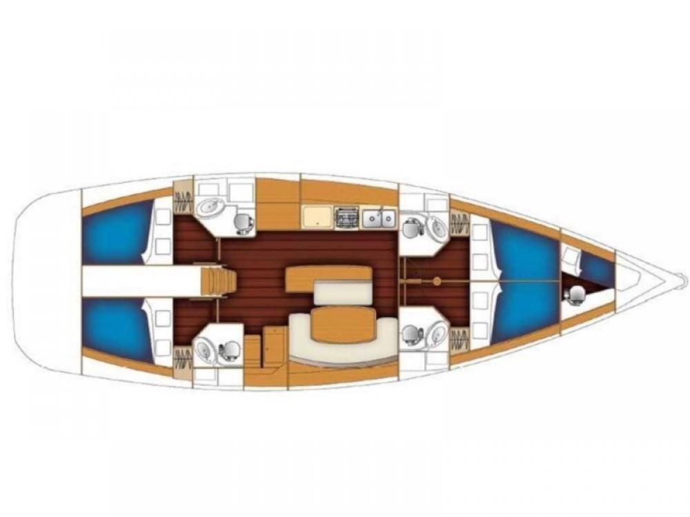 noleggio Barca a vela Nettuno - Bénéteau Cyclades 50.4