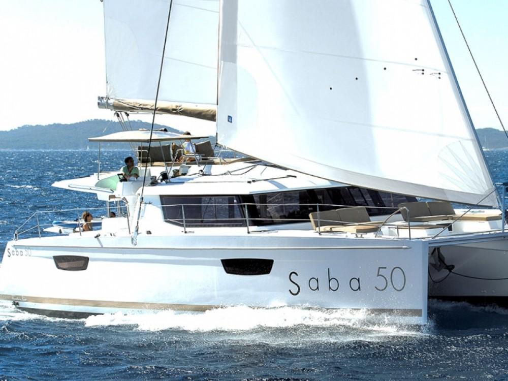 noleggio Catamarano Olbia - Fountaine Pajot Saba 50