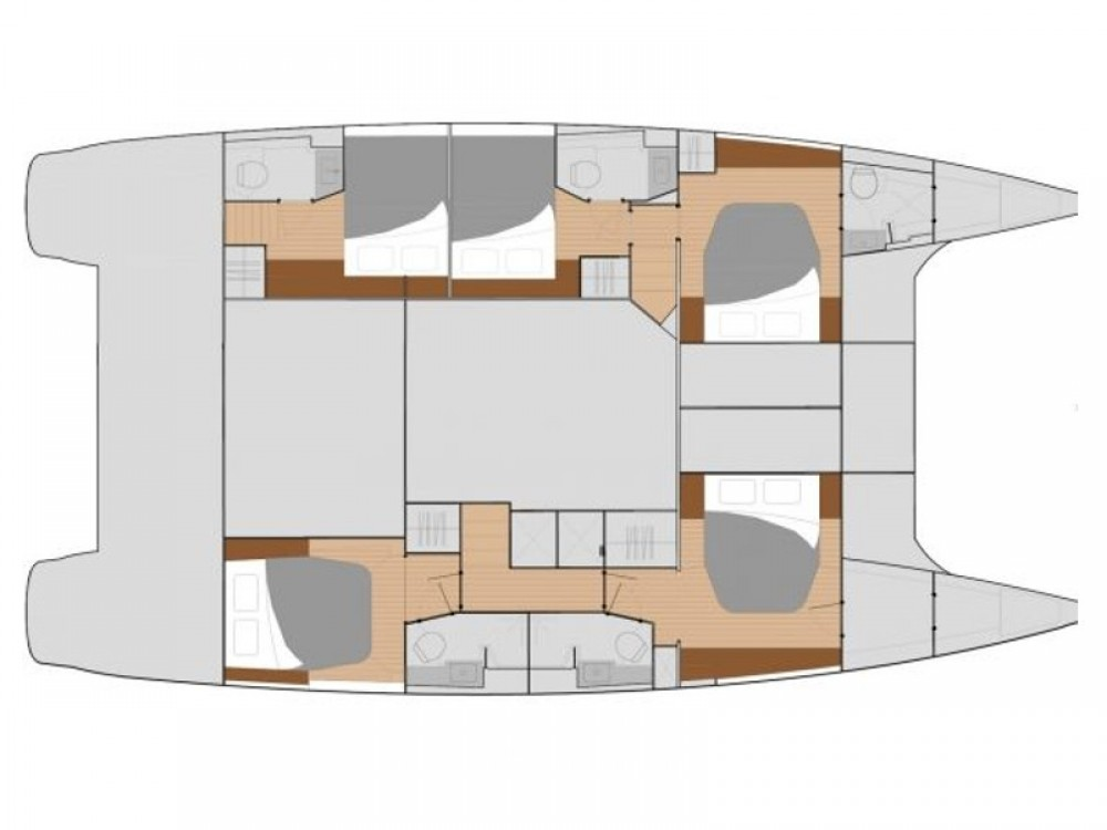 Noleggio Catamarano con o senza skipper Fountaine Pajot Olbia