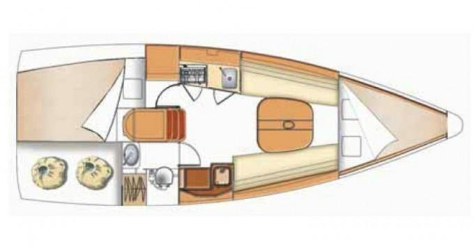 Noleggio barche Kortgene economico First 27.7