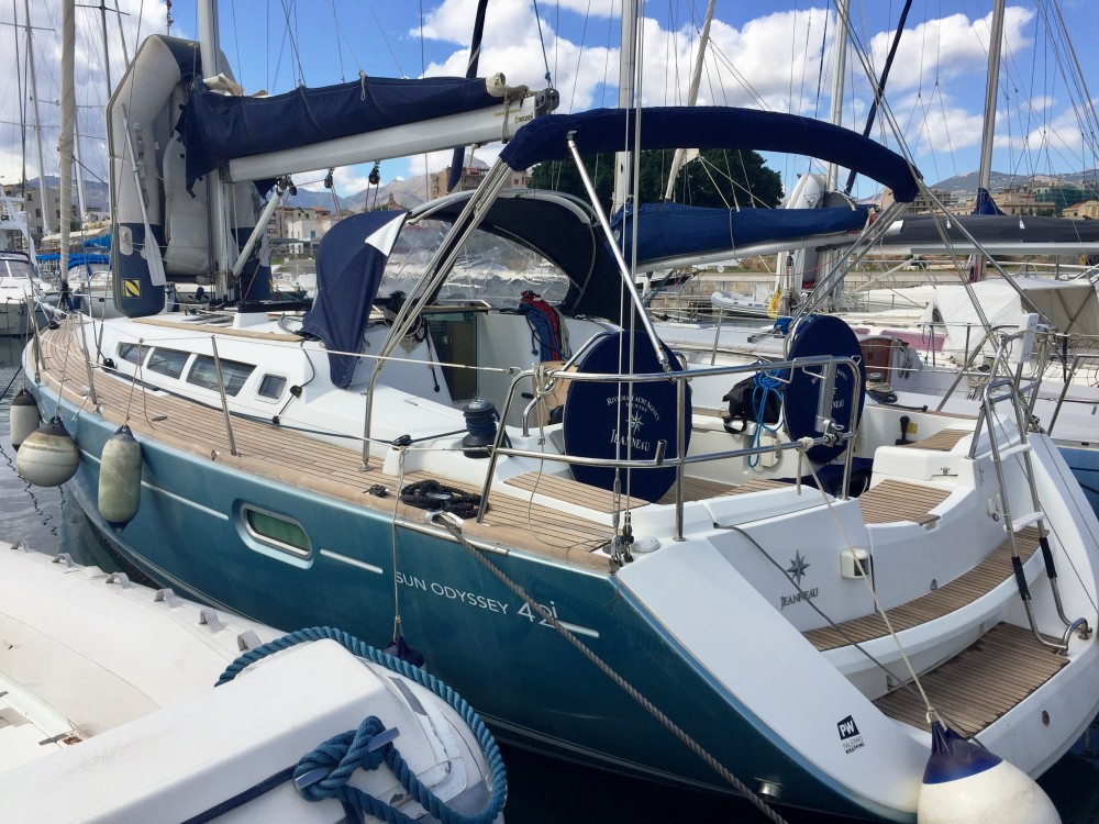 noleggio Barca a vela  - Jeanneau Sun Odyssey 42 i