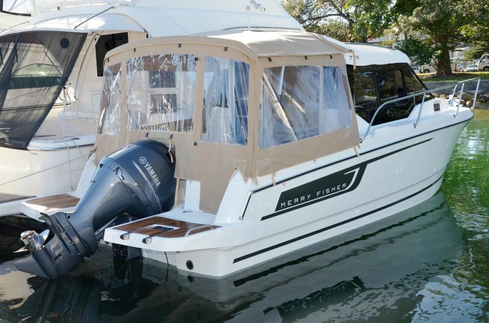 Noleggio Barca a motore con o senza skipper Jeanneau Trogir