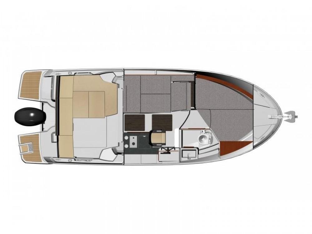 Noleggio barche Jeanneau Merry Fisher 795 Trogir su Samboat