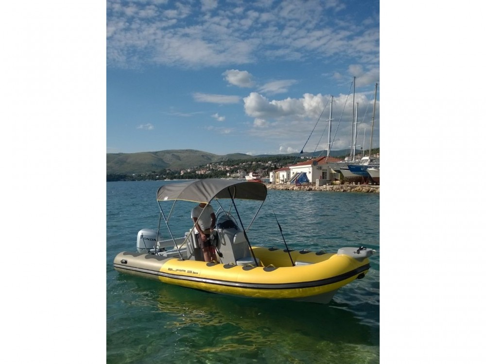 Bura 560 tra personale e professionale Marina Trogir SCT