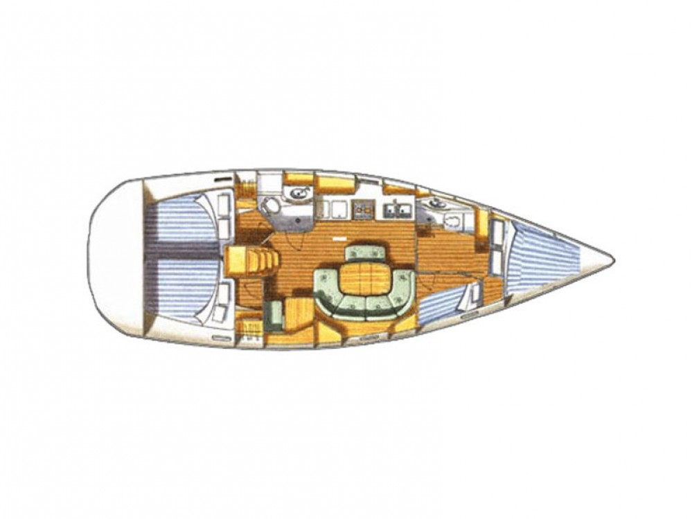 noleggio Barca a vela Carloforte - Bénéteau Oceanis 411
