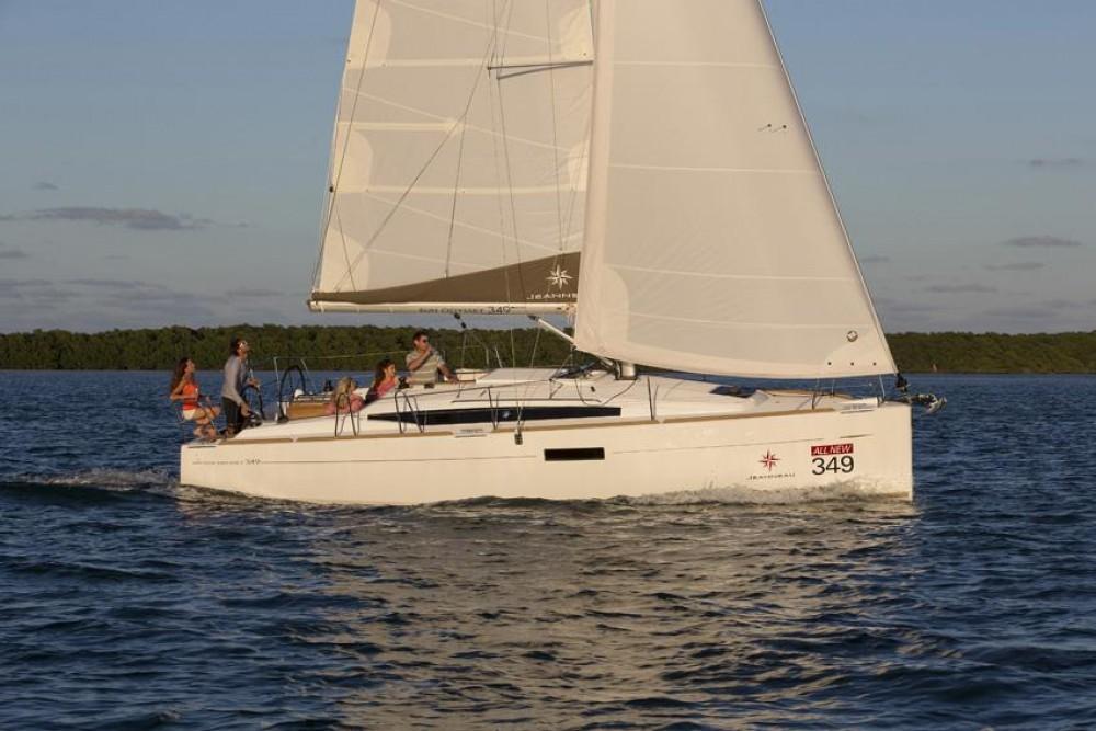 noleggio Barca a vela  - Jeanneau Sun Odyssey 349