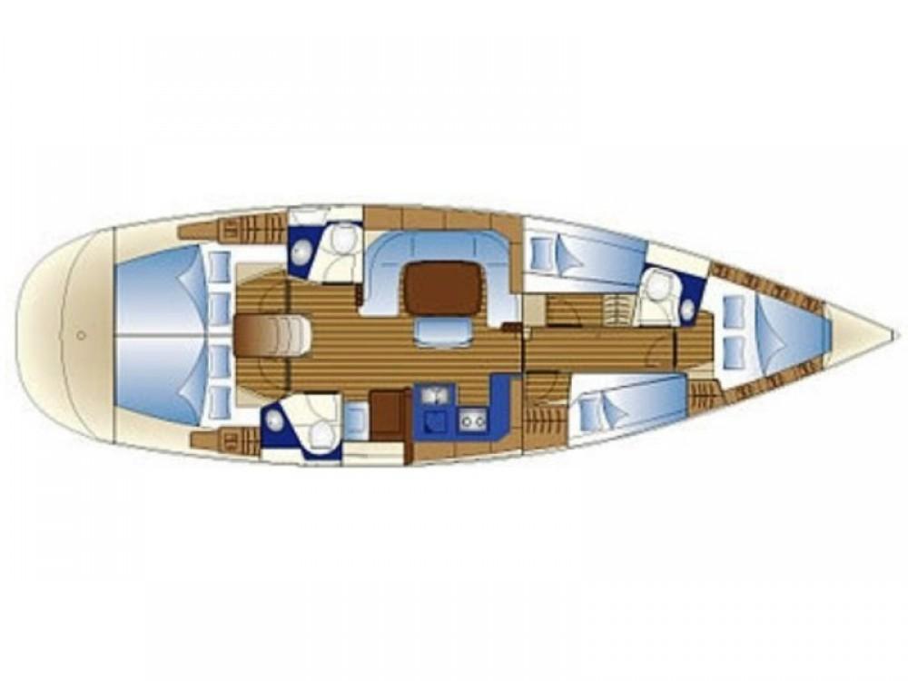Barca a vela a noleggio Áno Sýros al miglior prezzo