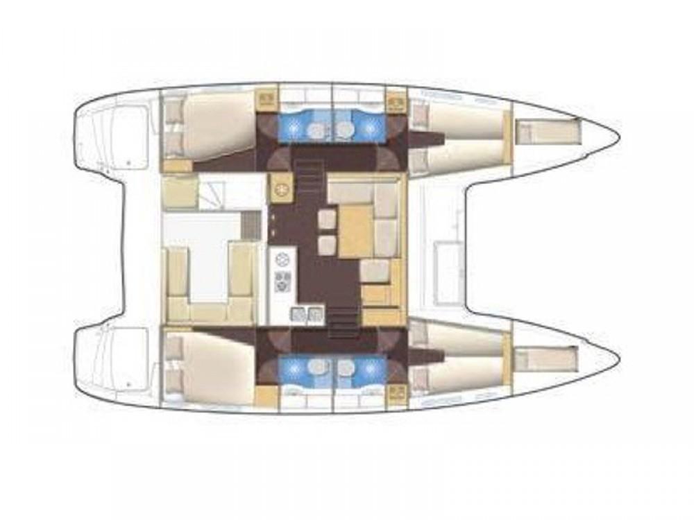 Catamarano a noleggio Porto di Alimos al miglior prezzo