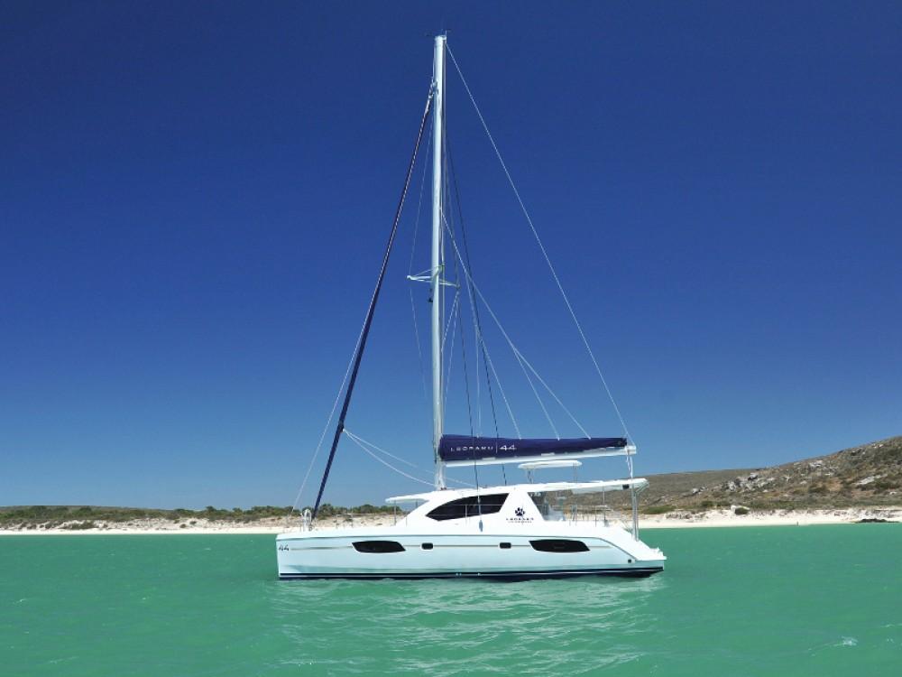 Noleggio Catamarano Leopard con una patente