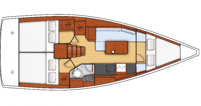 Noleggio barche Bocca di Magra economico Oceanis 35