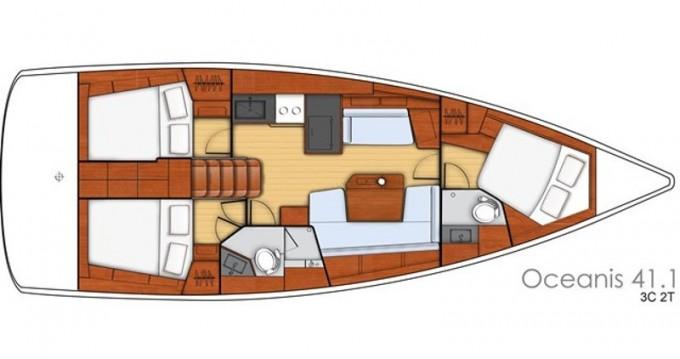 Noleggio Barca a vela a Bocca di Magra – Bénéteau Oceanis 41.1