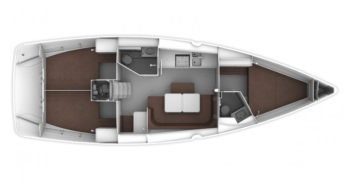 Noleggio barche Gouviá economico Cruiser 41