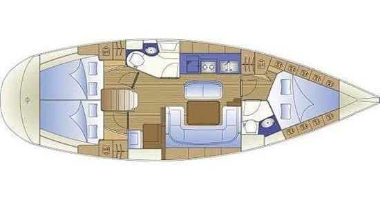 Noleggio Barca a vela a Gouviá – Bavaria Bavaria 40 Cruiser