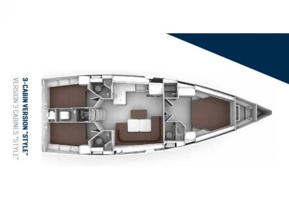 Noleggio barche Kontokali economico Bavaria Cruiser 46 Style