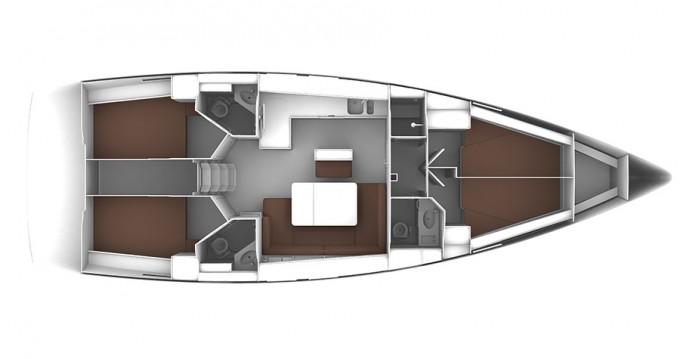 Noleggio Barca a vela a Gouviá – Bavaria Cruiser 46