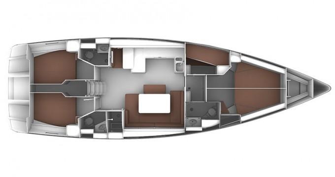Noleggio barche Gouviá economico Cruiser 51