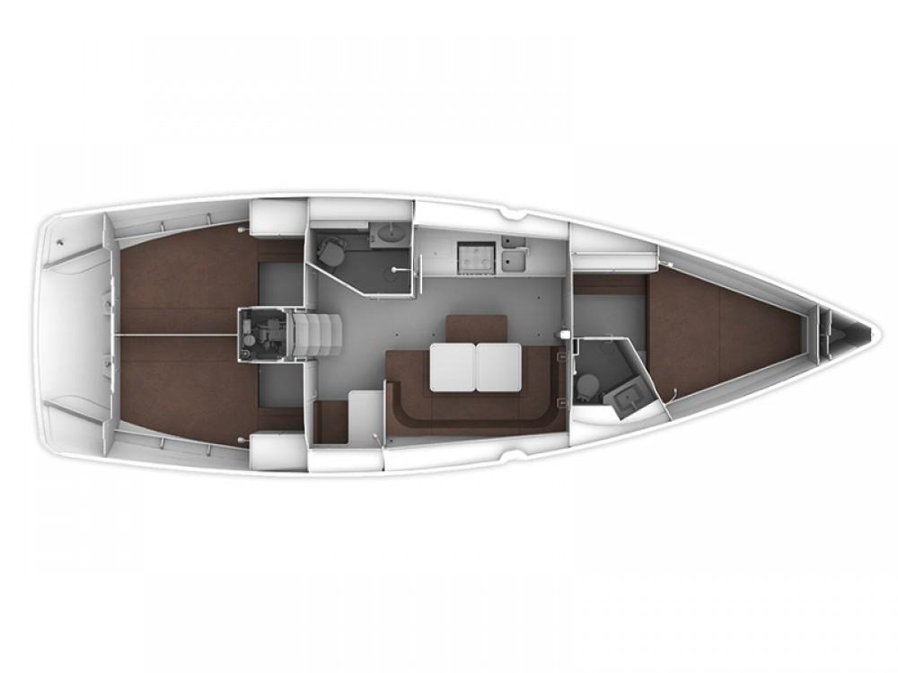 Noleggio yacht Göcek - Bavaria Bavaria Cruiser 41 su SamBoat