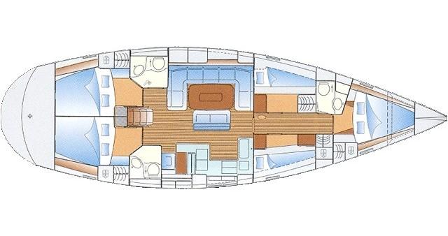 Noleggio Barca a vela a Lávrio – Bavaria Bavaria 50