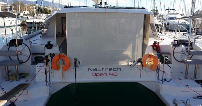 Noleggio Catamarano a Rhodes – Nautitech Nautitech Open 40
