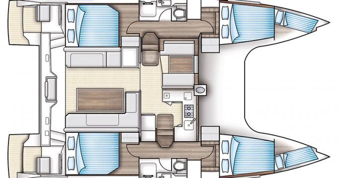 Noleggio Catamarano con o senza skipper Nautitech a Rhodes
