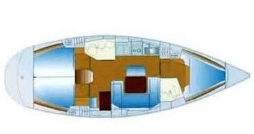 Noleggio yacht a Gouviá – Bavaria Bavaria 40 su SamBoat